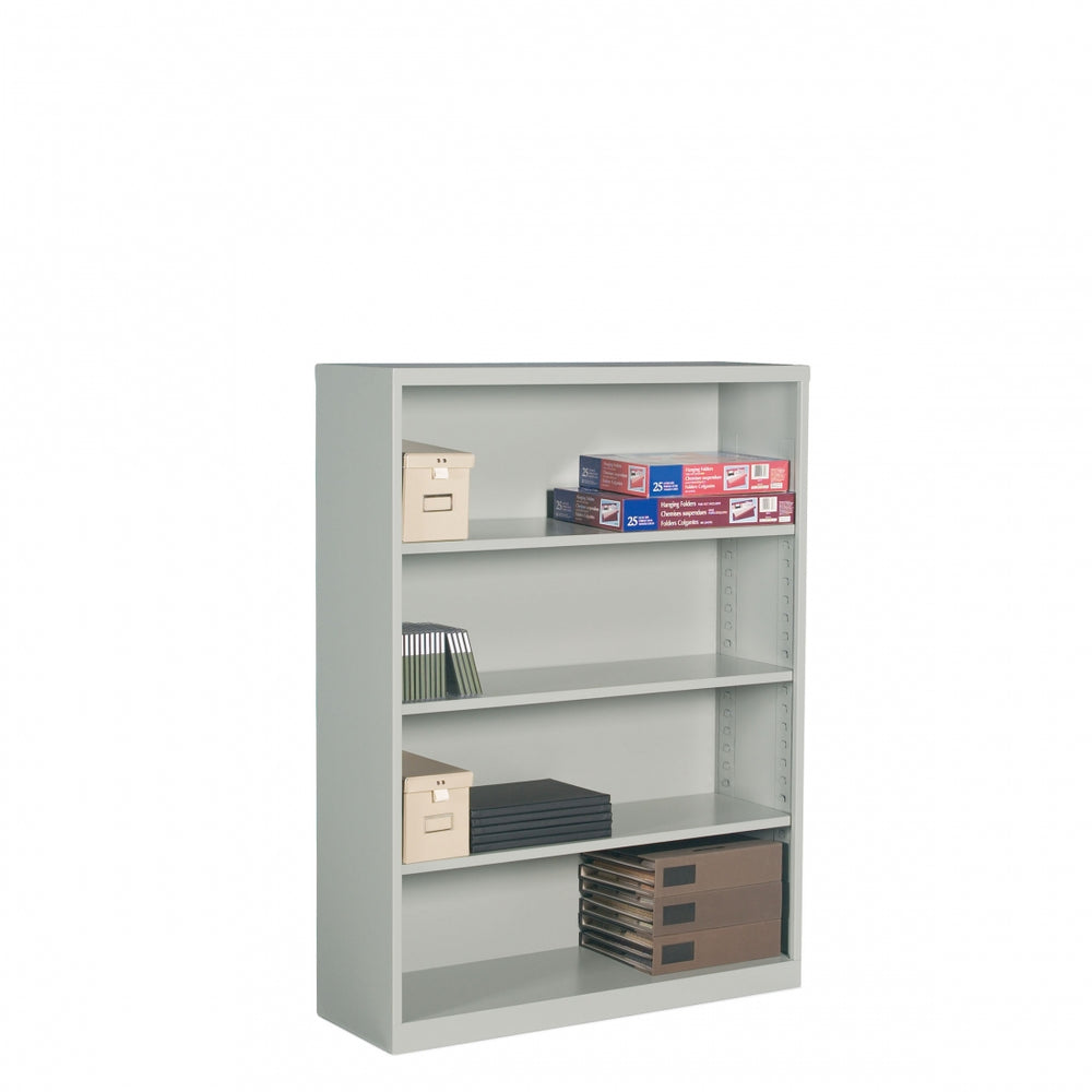 4 Shelf Metal Bookcase
