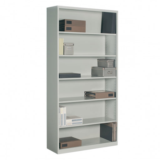 6 Shelf Metal Bookcase