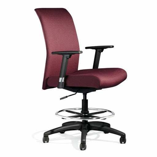 Zip Upholstered High back Conference Chair