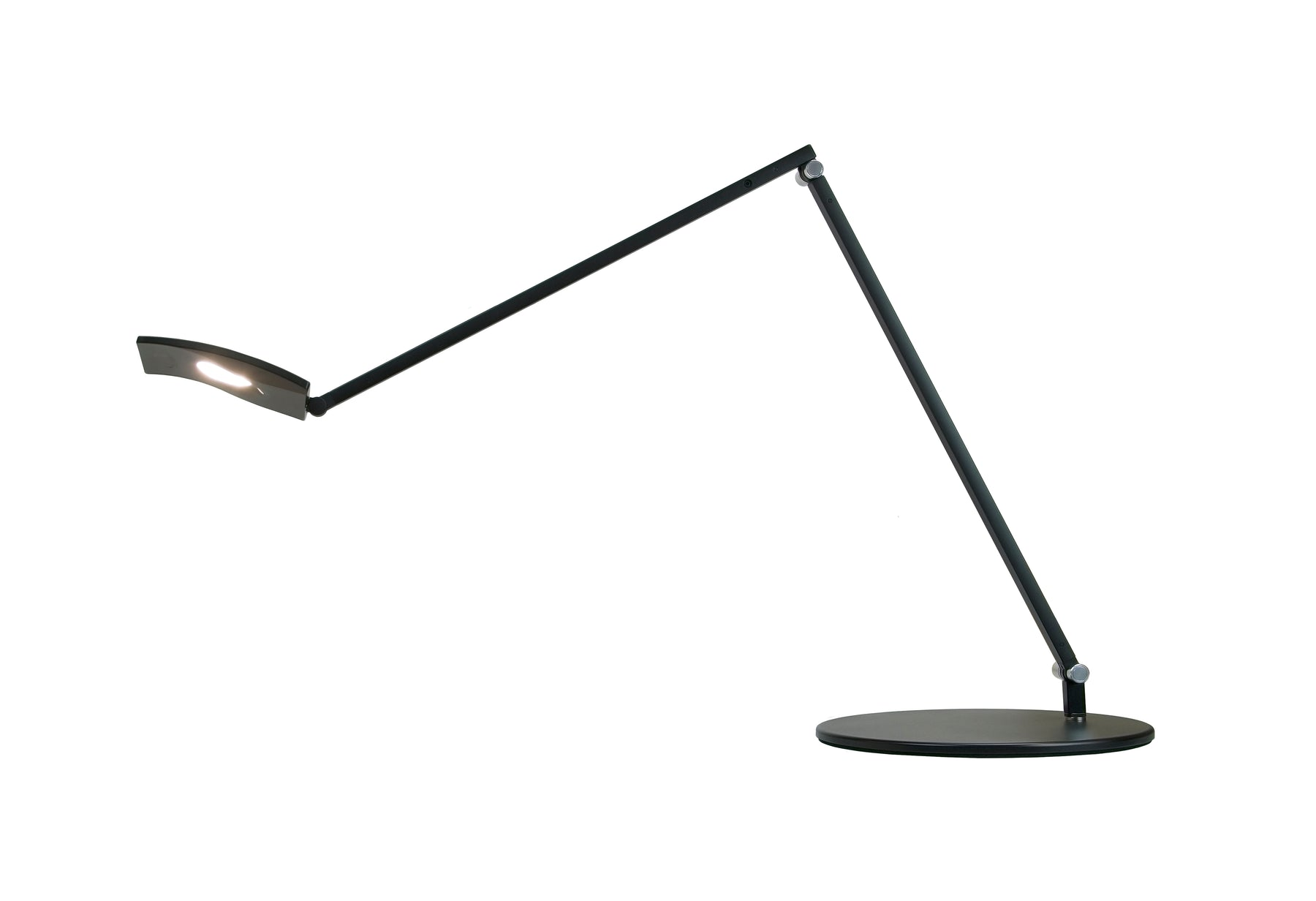 Koncept Desk Lamp for Z-Bar, Mosso Pro Desk series (Metallic Black)