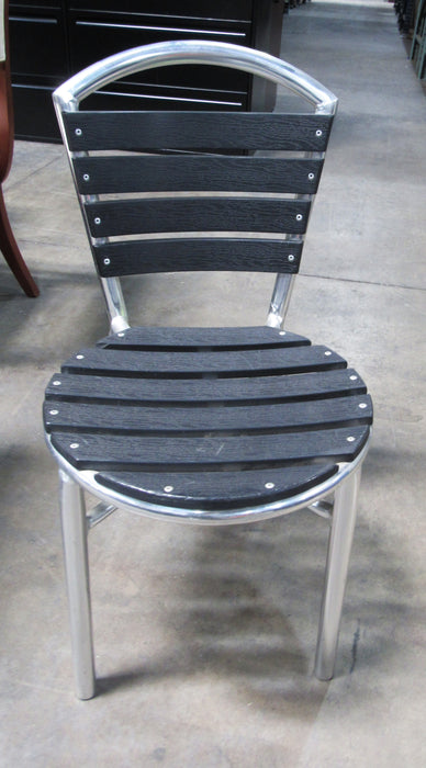 Black Slate Patio Chair