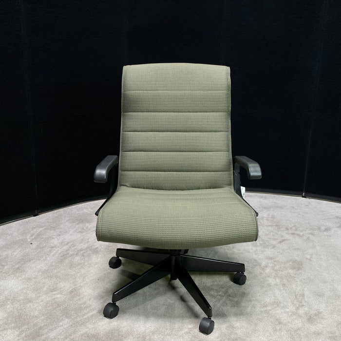 "Knoll ""Sapper"" Green Office Chair"