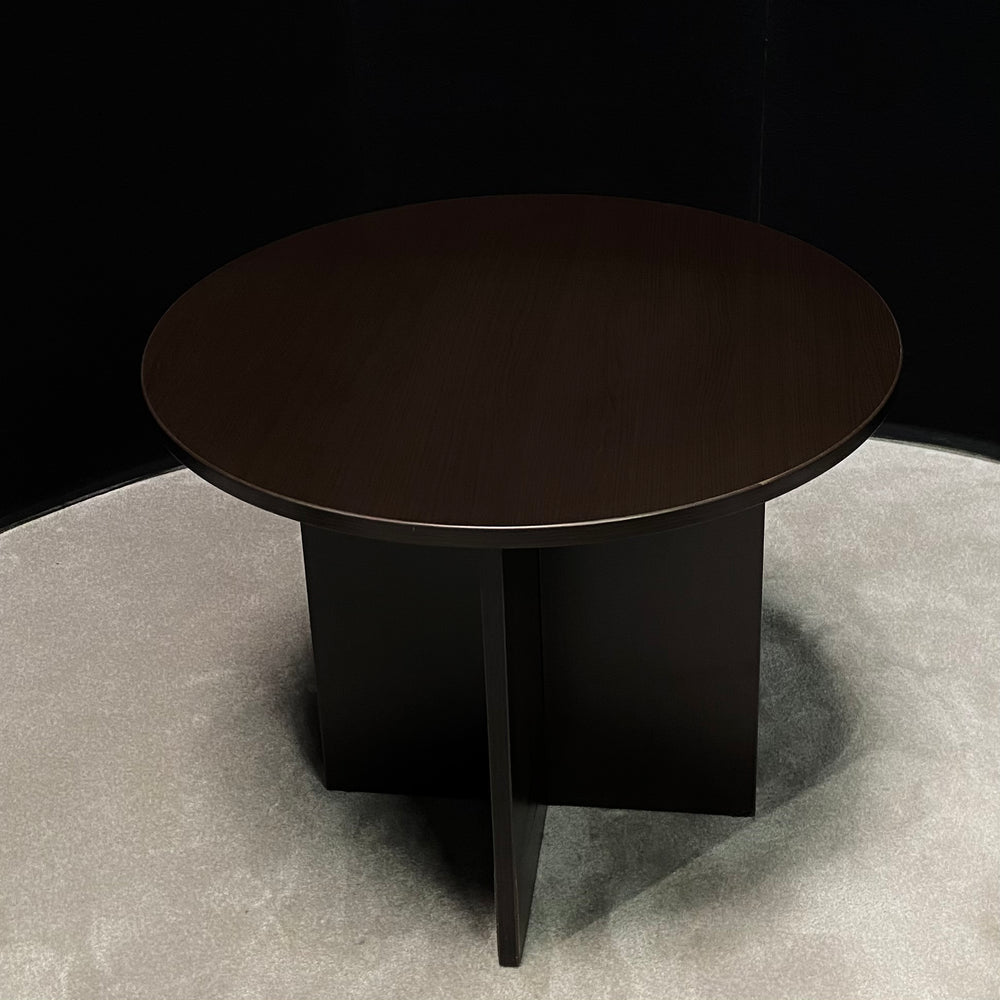 36 Inch Round Table - Espresso