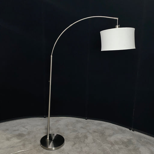 Pewter Arched Floor Lamp