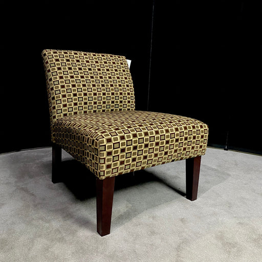 Brown/Beige Lounge Chair