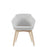 Drift Side Chair, Wood 4-Legged Base 8030