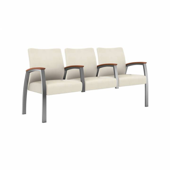 Foster Upholstered Multiple Triple with Half Arm