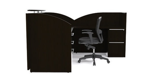 Verde Modern Executive Reception Desk