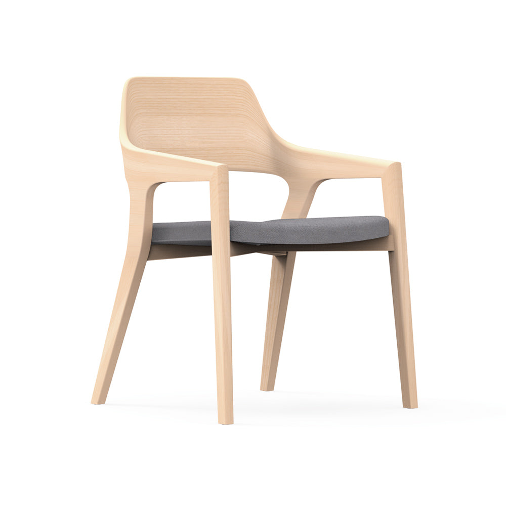 Crazy Horse Wood Side Chair
