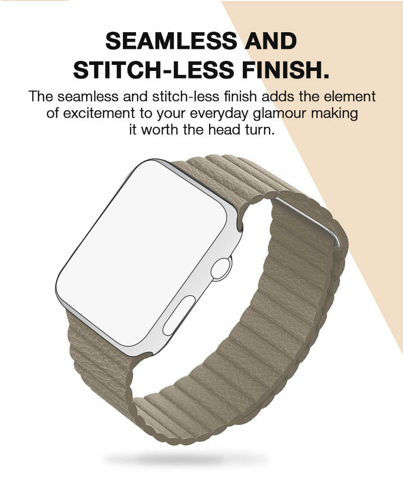 Leather Loop Apple Watch Strap