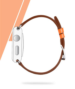 Double Tour Leather Apple Watch Strap