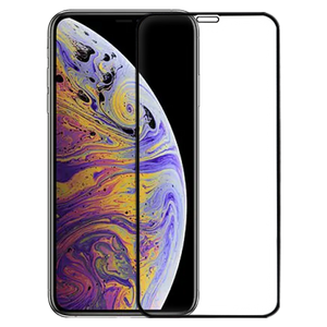 Black 3D Edge to Edge Tempered Glass For Apple iPhone Xs Max