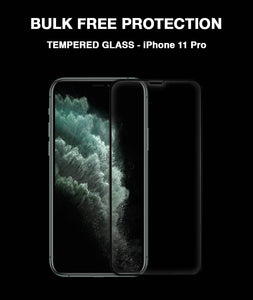 Black 3D Edge to Edge Tempered Glass For Apple iPhone 11 Pro