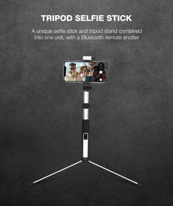 Optimus Multi-Function Selfie Stick - Robobull