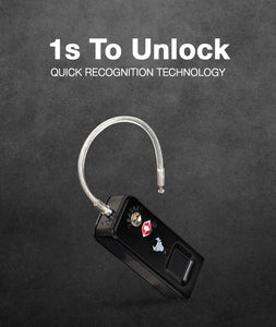 Fingerprint Padlock with TSA - Robobull