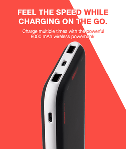 JuiceUp 8000 mAh Qi Power Bank