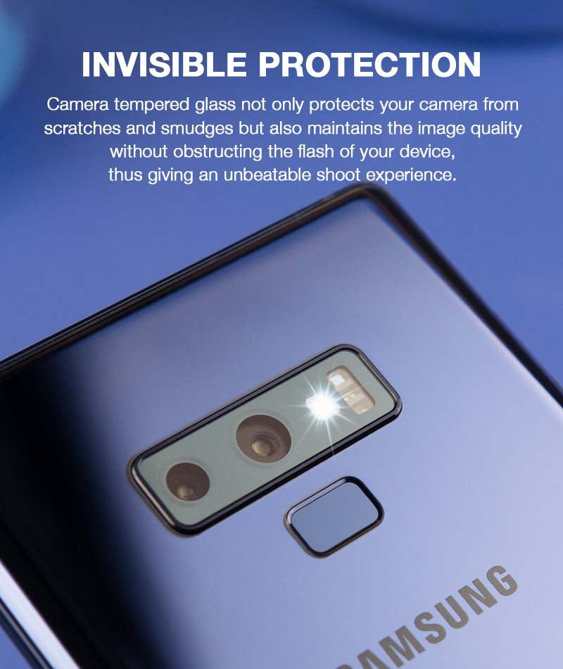 Camera Tempered Glass for Galaxy Note 9