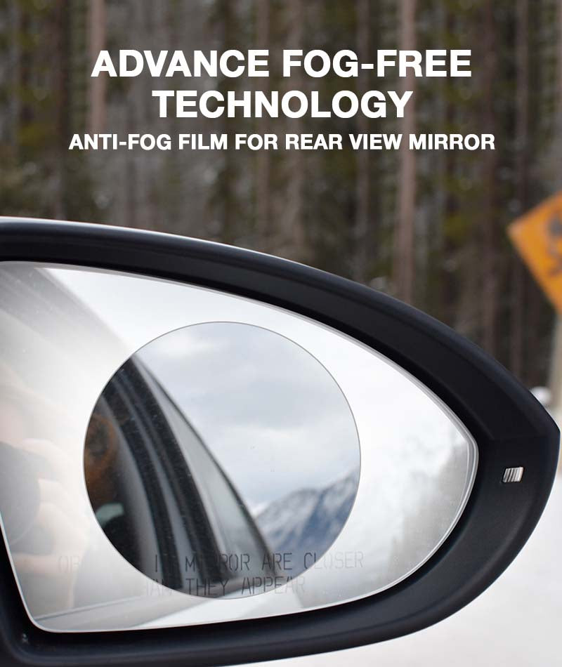 Cllear Anti-Fog Film For Car Rear View Mirror