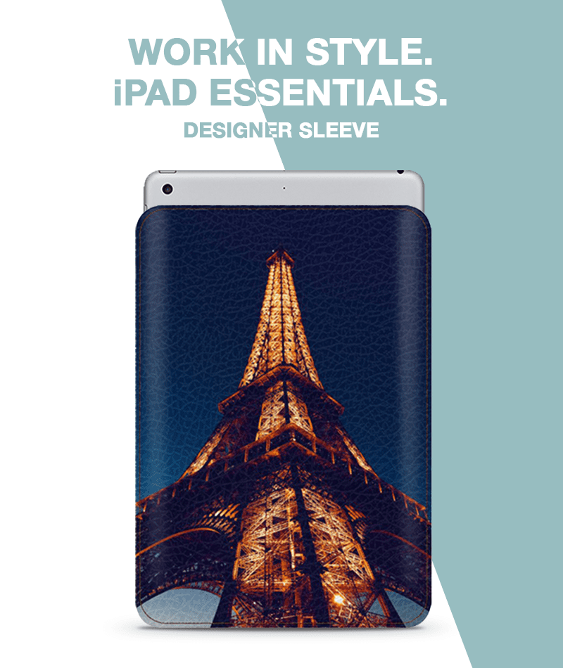 Architecture Art Paris Sleeve For iPad 9.7