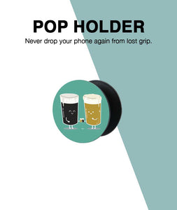 Beer Couple Pop Up Holder