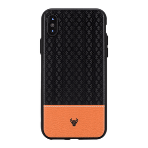 Black Motif Case For iPhone X