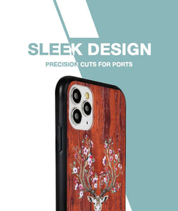Blossoming Horns Case For iPhone 11 Pro Max