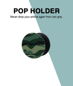 Camoufage Green Pop Up Holder