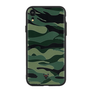 Camouflage Green Case For iPhone XR
