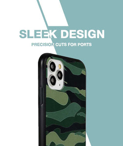 Camouflage Green Case For iPhone 11 Pro