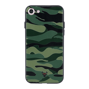 Camouflage Green Case For iPhone 7
