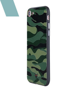 Camouflage Green Case For iPhone 8