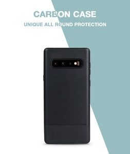 Carbon Black Soft Case For Galaxy S10 Plus