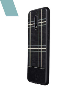 Checkered Black Case For OnePlus 7
