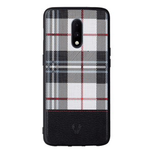 Checkered White Case For OnePlus 7