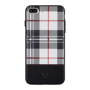 Checkered White Case For iPhone 7 Plus