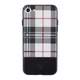 Checkered White Case For iPhone 8
