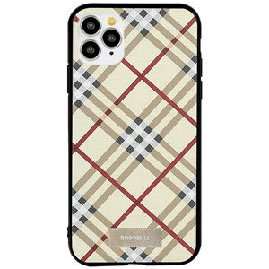 Checkered Yellow Case For iPhone 11 Pro