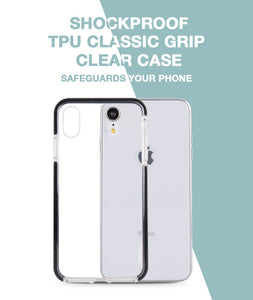 Classic Grip Clear Case for iPhone XR