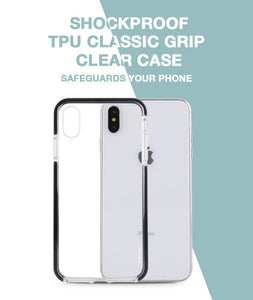 Classic Grip Clear Case for iPhone Xs