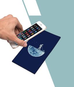 Clear The Moon Designer Smartphone Pad