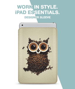 Coffee owl Sleeve For iPad mini 4