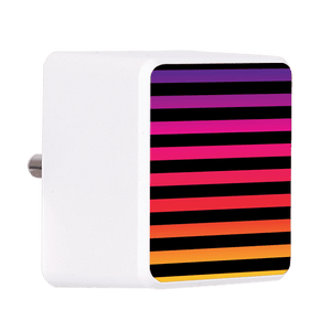 Colored Black Bolt Wall Charger