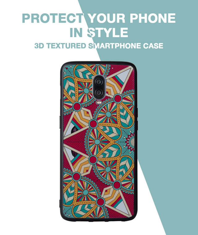 Colorful Vbe Case For OnePlus 6T