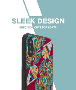 Colorful Vbe Case For iPhone X