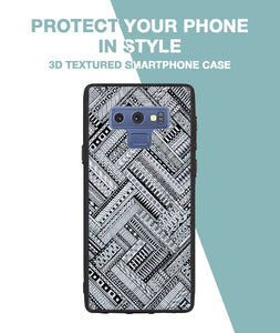 Crossing Patterns Case For Galaxy Note 9