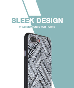 Crossing Patterns Case For iPhone 7 Plus