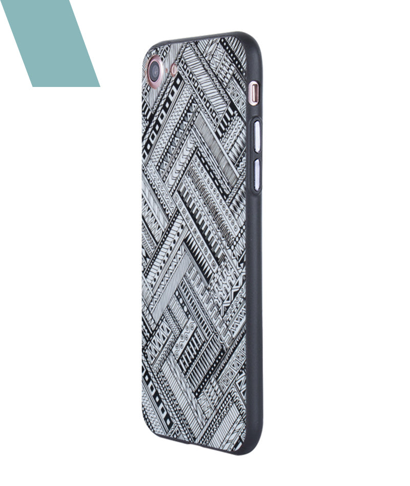 Crossing Patterns Case For iPhone 7