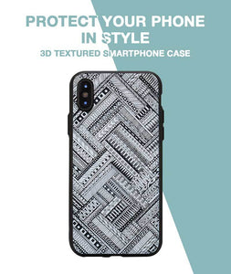 Crossing Patterns Case For iPhone X