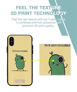 Cutecumber Case For iPhone XS MAX