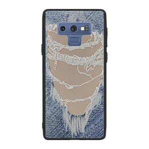 Distressed Jeans Case For Galaxy Note 9